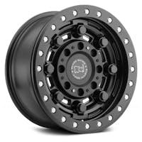 Black Rhino Wheels 1785GAR-25127M71 - Garrison Beadlock Wheel 17x8.5 5x5 Matte Black