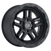 "Black Rhino 1795BTW-85127M71 - Barstow Wheel - 17""x9.5"", Bolt Pattern 5x5"", Backspacing 4.56"", Offset -18 - Textured Matte Black"