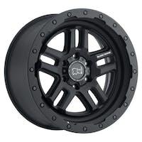 "Black Rhino 2095BTW-85127M71 - Barstow Wheel - 20""x9.5"", Bolt Pattern 5x5"", Backspacing 4.56"", Offset -18 - Textured Matte Black"