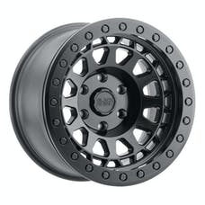 BLACK RHINO 1785PRM-85127M71 - PRIMM BEADLOCK - MATTE BLACK W/BLACK BOLTS - 17X8.5 SIZE, 5X127 BOLT PATTERN, -38 OFFSET, 3.25 BACKSPACE