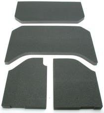 Boom Mats 050131 - Jeep Wrangler Sound Deadening Headliner - BLACK - 07-10 JEEP JKU