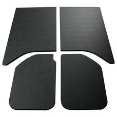 Boom Mats 050160 - Leather Look Jeep Wrangler Sound Deadening Headliner - BLACK- 11-18 JK