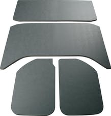 Boom Mats 050161 - Leather Look Jeep Wrangler Sound Deadening Headliner - 11-18 JEEP JKU