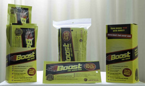 Boost My Fuel 5 Pack - .5 OZ FUEL BOOST SAVER 5 PACK FUEL ADDITIVE