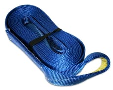 """Bulldog Winch 20029 Recovery Strap 2"""" x 20', 20,000lb BS polyester"""
