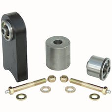 Currie CE-9102K1 - TJ/LJ/XJ/MJ Front End Housing Johnny Joint Kit W/1/2 Inch Thru Bolts