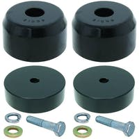 Currie CE-9807FBSK Jeep Wrangler JK Bump Stop Kit Front From JK Off Road Suspension System