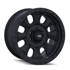 "Dirty Life 9300-2985MB18N - Ironman 9300 Series Wheel, 20""x9"", 5x5.5 Bolt Pattern, 5.7"" Back Spacing - Matte Black/Black Beadlock"
