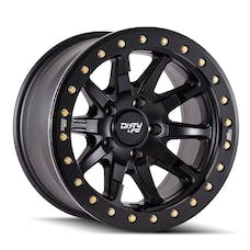 "Dirty Life 9304-7973MB38 - DT-2 9304 Series Wheel, 17""x9"", 5x5 Bolt Pattern, 3.5"" Back Spacing - Matte Black"
