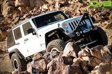 DV8 Offroad HT07FB42 Jeep JK Hard Top Fast Back 07-18 Wrangler JK 4 Door Black 2 Piece