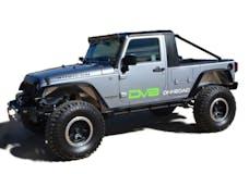 DV8 Offroad HT07TC42 Jeep JK Truck Conversion 07-18 Wrangler JK Black