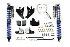 EVO Manufacturing EVO-1109B - EVO JK REAR BOLT-ON COILOVER KIT (BLACK)