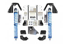 EVO Manufacturing EVO-3029BA - Jeep JL NV2514 Rear Bolt-on Coilover Kit 18-Pres Wrangler JL 2/4 Door w/ Comp Adjuster Black
