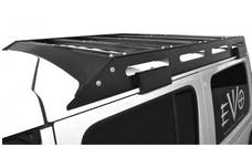 EVO Manufacturing EVO-3038 - Jeep JL Unlimited Trail Roof Rack 18-Present Wrangler JL Unlimited Raw