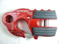 Factor 55 00250-01 - UltraHook Winch Hook W/Shackle Mount Red