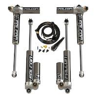 "Teraflex 03-01-34-400-253 JKU 4-Door 2.5-3.5"" Lift Falcon Series 3.4 Remote Air Adjust Piggyback Shocks"