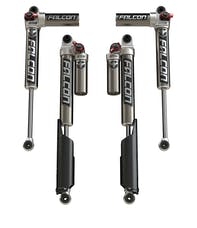 "Teraflex 10-01-33-400-200 JL 2-Door: 2-4.5"" Lift Falcon Series 3.3 Fast Adjust Piggyback Shocks"