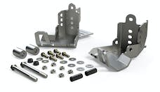 Teraflex 36-07-01-300 Falcon JK/JKU HD Rear Shock Skid Plate Kit
