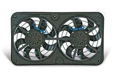 Flex-A-Lite 480 - Reversible Dual 12 1/8 Inch X-Treme S-Blade Electric Radiator Fan 8 Blade W/Variable Speed Controller