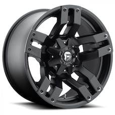 "Fuel Off-Road D51520902650 - Pump Series Wheel - 20""x9"" - Bolt Pattern 5x4.5"" and 5x5"" - Backspacing - 5"" - Matte Black"