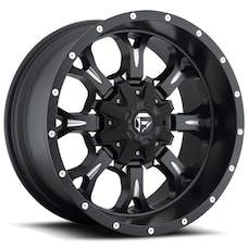 """Fuel Off-Road D51718902645 - Krank Series Wheel 18""""x9"""" - Bolt Pattern 5x4.5"""" and 5x5"""" - Matte Black"""
