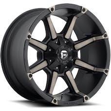 "Fuel Off-Road D55617900545 - Coupler Series Wheel - 17""x9"" - Bolt Pattern 5x5"" - Backspacing 4.5"" - Offset -12 - Black"