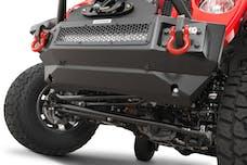 Go Rhino 332100T Rockline Series Front Bumper Lower Skid Plate (Textured Powder Coat Finish)