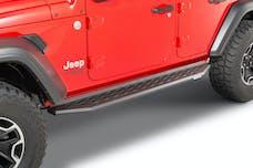 Go Rhino 69450673PC RB20 Series Cab-Length Running Boards (Textured Powder Coat Finish)