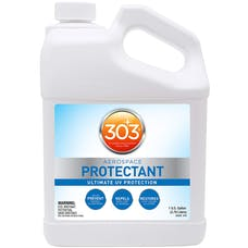 303 Products 30320 - UV Protectant Gallon for Vinyl, Plastic, Rubber, Fiberglass, Leather & More – Dust and Dirt Repellant - Non-Toxic, Matte Finish, 128 Fl. oz.