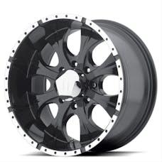 HELO Wheels HE7915850312 - MAXX 15x8 5x127.00 GLOSS BLACK MACHINED (-12 mm)