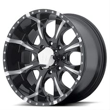 HELO Wheels HE7918950912 - MAXX 18x9 5x127.00 GLOSS BLACK MILLED (-12 mm)