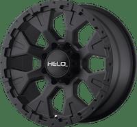 HELO Wheels HE87889050712N - HE878 18x9 5x127.00 SATIN BLACK (-12 mm)