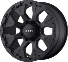HELO Wheels HE87889050712N - HE878 18x9 5x127.00 SATIN BLACK (-12 mm)