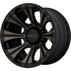 HELO Wheels HE90189050900 - HE901 18x9 5x127.00 SATIN BLACK MACHINED W/ DARK TINT (0 mm)
