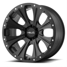HELO WHEELS HE90189050700 - HE901 18x9 5x127.00 SATIN BLACK (0 mm)