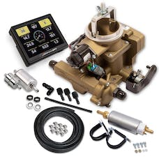 HOLLEY PERFORMANCE 550-860K - Sniper EFI BBD Master Kit - Gold