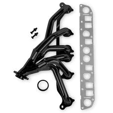 HOLLEY PERFORMANCE 92001FLT - Flowtech Shorty Header, Black
