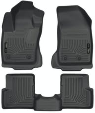 Husky Liners 99081 Weatherbeater Series Front & 2nd Seat Floor Liners