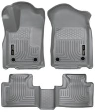 Husky Liners 99152 Weatherbeater Series Front & 2nd Seat Floor Liners