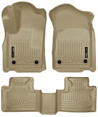 Husky Liners 99153 Weatherbeater Series Front & 2nd Seat Floor Liners