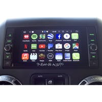 Insane Audio - JK2001 Jeep Wrangler JK/JKU Double DIN IP66 Waterproof Head Unit