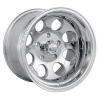 "Ion Wheels 171-6185P - 171 Series - Polished Wheel 16"" X 10"" - 5"" X 5.5"" Bolt Pattern, Back Spacing 4"""