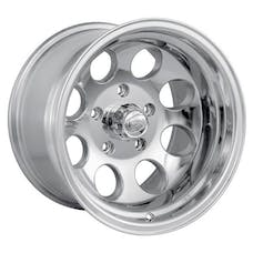 "Ion Wheels 171-6185P - 171 Series - Polished Wheel 16"" X 10"" - 5"" X 5.5"" Bolt Pattern, Back Spacing 4"""