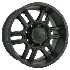 "Ion Wheels 179-7865MB - 179 Series - Matte Black Wheel 17"" X 8"" - 5"" X 4.5"" Bolt Pattern, Back Spacing 5"""