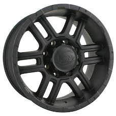 "Ion Wheels 179-7885MB - 179 Series - Matte Black Wheel 17"" X 8"" - 5"" X 5.5"" Bolt Pattern, Back Spacing 5"""