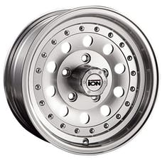 "Ion Wheels 71-5865 - 71 Series - Machined Wheel 15"" X 8"" - 5"" X 4.5"" Bolt Pattern, Back Spacing 3.75"""