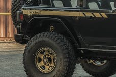 JCR Offroad JLRX-IF-BARE - Jeep JL Inner Fenders Bare Rear 2018-Present Wrangler JL