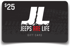 Jeeps Are Life Digital Gift Card 25 Dollars
