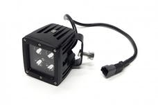 Jeeps Are Life JAL-CREEPOD-B3X3 - 3-INCH CUBE CREE LED LIGHT WITH HARNESS - BLACK SERIES