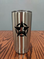 Jeeps Are Life 20 oz Stainless Steel Tumbler W/ Clear Lid
